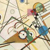 Composition 8 by Wassily Kandinsky