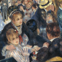 Le Moulin de la Galette by Renoir