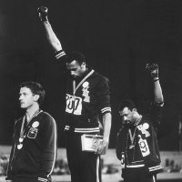 black power salute at olympics