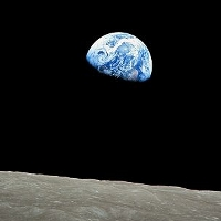famous photo of earth taken from the moon